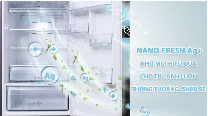 Kháng khuẩn hiệu quả với công nghệ khử mùi độc đáo