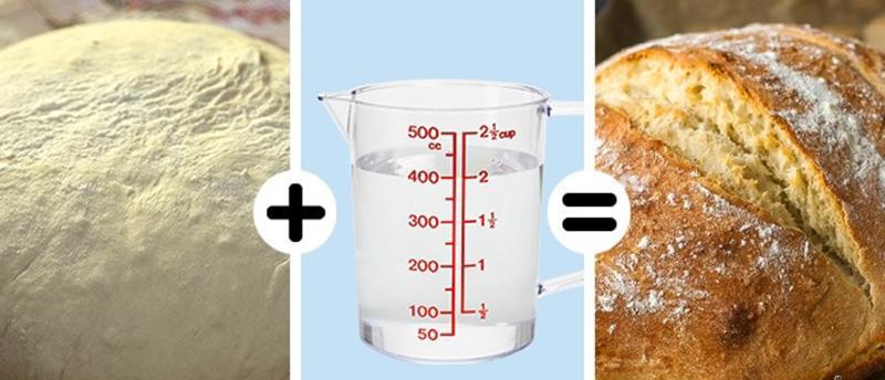 Nướng bánh mì vỏ giòn