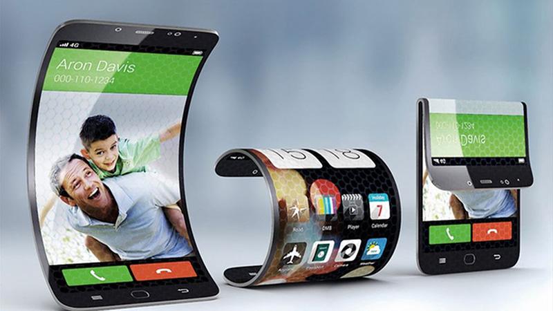 Chiếc điện thoại có thể gập được đầu tiên