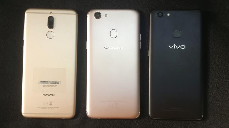 Huawei vs OPPO vs Vivo