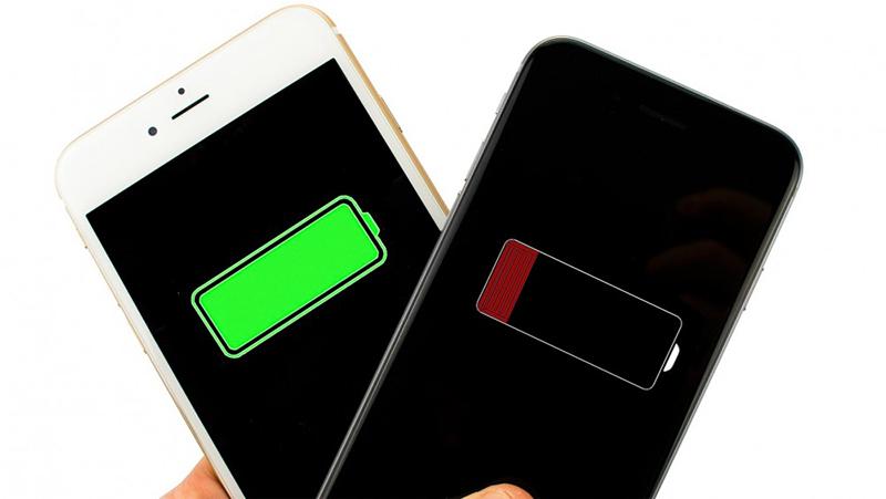 thời lượng pin smartphone
