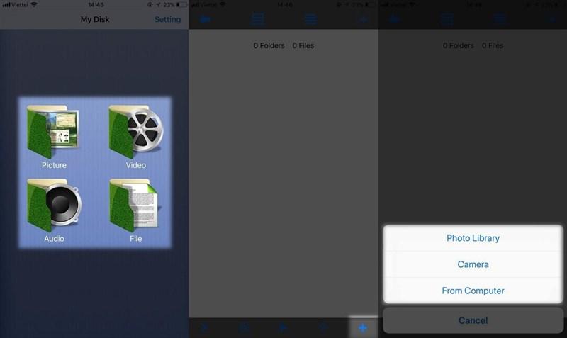 khóa app bằng touch id