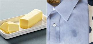 Mẹo tẩy sạch vết bẩn của bơ dính trên quần áo, đồ dùng