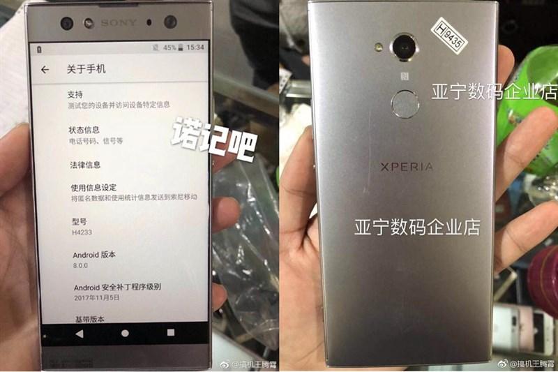 Lộ giá bán của Xperia XA2, XA2 Ultra và Xperia L2