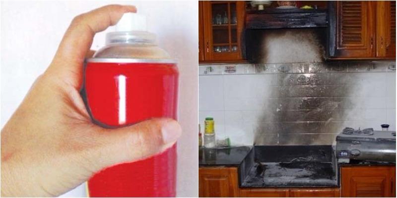Hiểm họa cháy nổ từ dùng thuốc diệt côn trùng sai cách