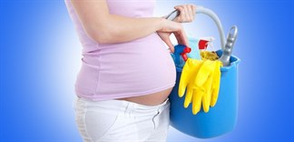 Chất tẩy rửa có nguy hại cho thai nhi?