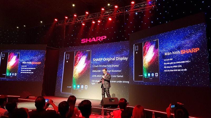 Sharp ra mắt Aquos S2 màn hình tràn viền tại VN, giá 6.99 triệu