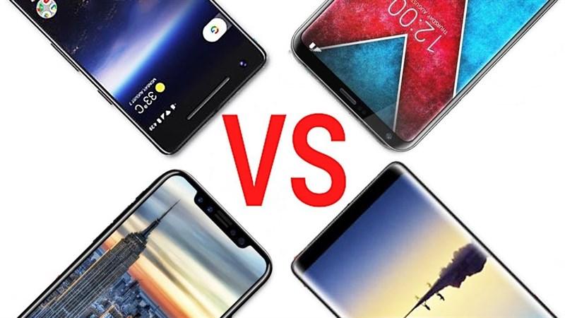 Hầu hết smartphone 2018 đều có viền cạnh màn hình siêu mỏng