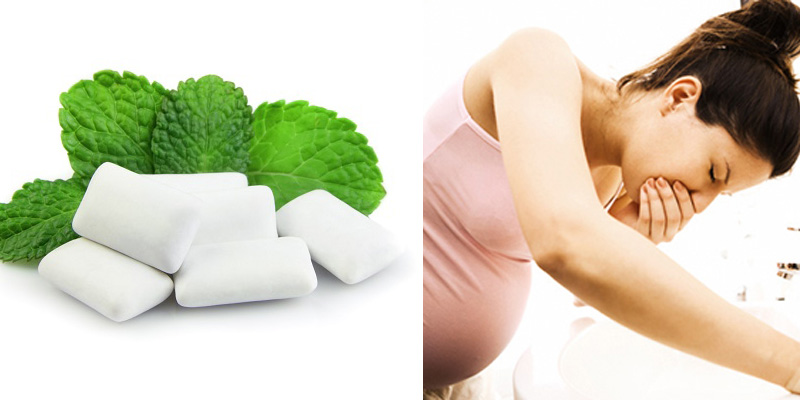 Kẹo cao su giúp nhiều mẹ bầu giảm cảm giác khó chịu do ốm nghén