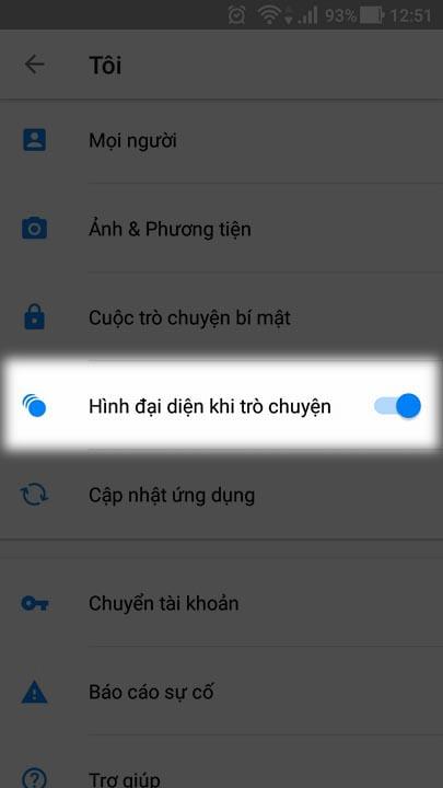 Cách tắt bong bóng chat trên Messenger giúp máy Đỡ chậm, lag