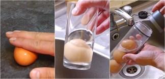 Mẹo bóc vỏ trứng độc lạ
