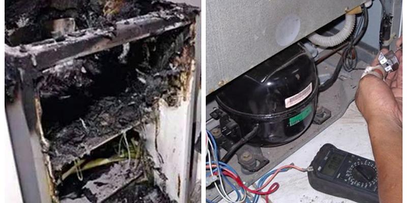 để nước ngọt hoặc bia trong tủ lạnh có nguy cơ gây cháy nổ