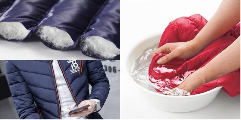 Cách giặt áo khoác lông vũ siêu nhẹ, vừa sạch vừa bền