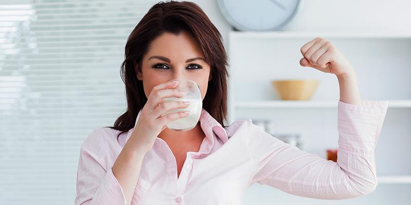 Lợi ích của sữa tươi nguyên chất