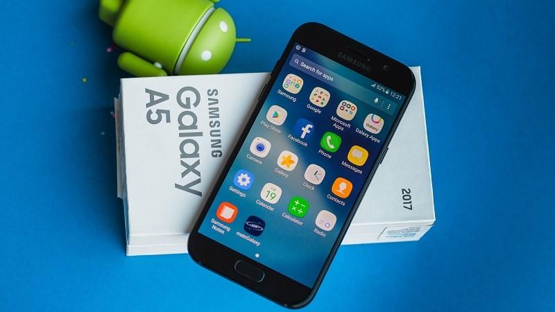 Galaxy A5 (2017) nhận bản cập nhật bảo mật Android tháng 1/2018