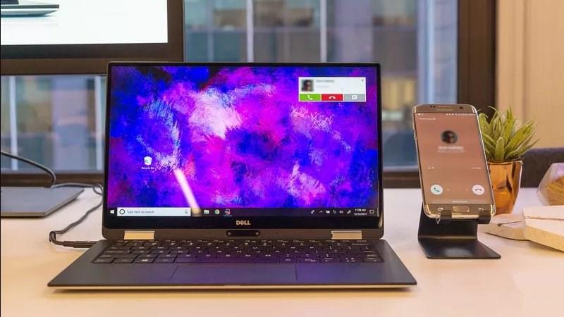Laptop mới của Dell có thể nhận tin nhắn, cuộc gọi từ Android và iOS - ảnh 1