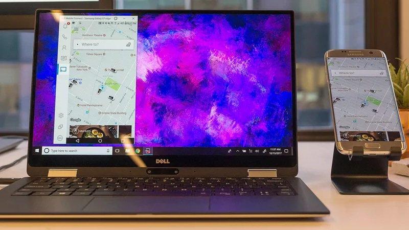 Laptop mới của Dell có thể nhận tin nhắn, cuộc gọi từ Android và iOS - ảnh 2