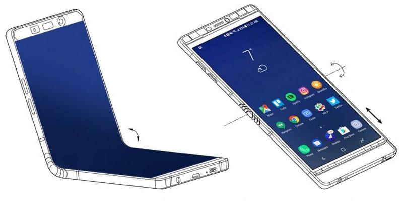 Smartphone màn hình gập được Samsung bí mật trưng bày tại CES 2018 - ảnh 2