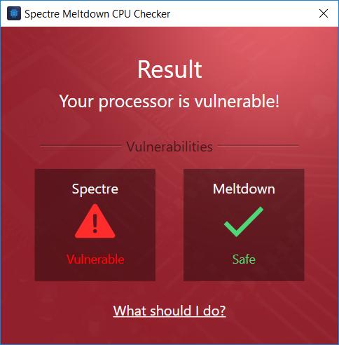 Kiểm tranh nhanh máy tính có dính lỗ hổng Spectre, Meltdown
