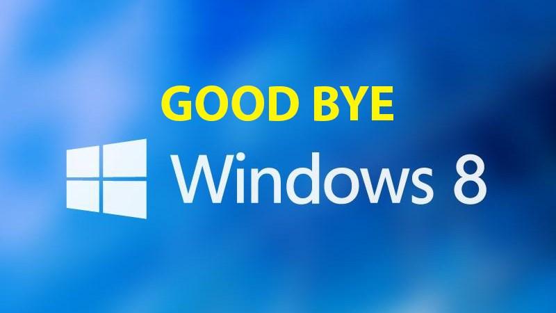 Windows 8, đã đến lúc phải nói lời tạm biệt! - ảnh 1