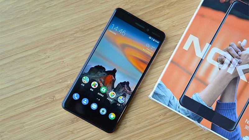 Hình ảnh trên tay Nokia 6 (2018) mới nhất: Cứng cáp và sang trọng - ảnh 1