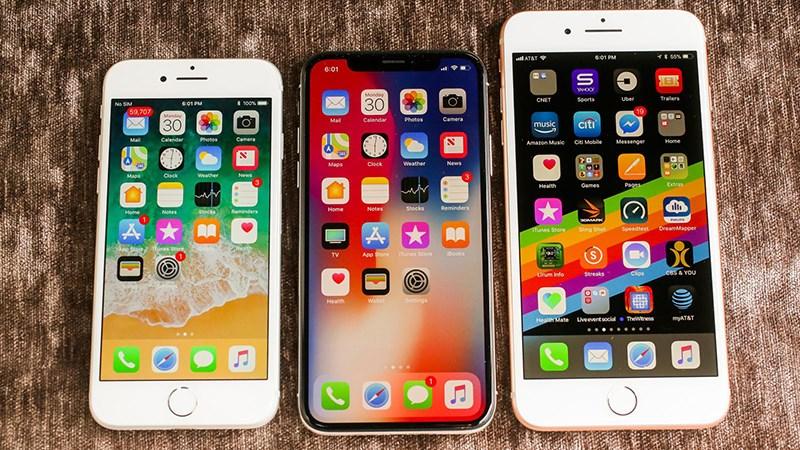 iPhone 8 8 Plus vs iPhone X