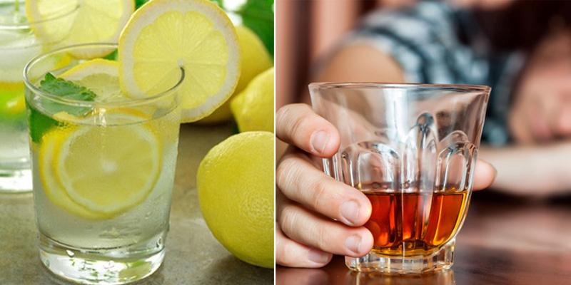 Uống nước chanh giải rượu thực sự có hiệu quả?-1
