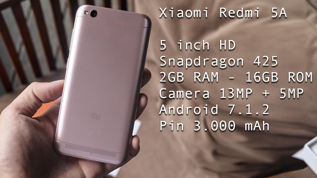 Trên tay Xiaomi Redmi 5A