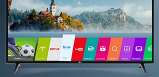 Cách tải ứng dụng trên smart tivi LG 2018