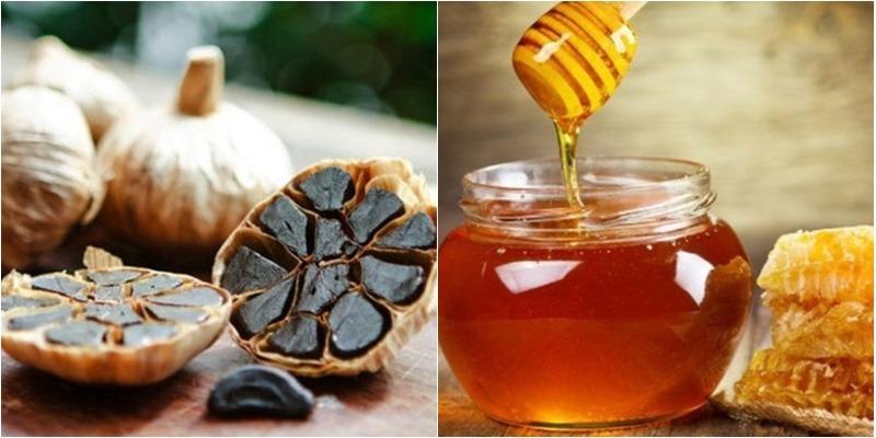 Bật mí vài tác dụng của tỏi đen ngâm mật ong