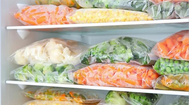 Bảo quản rau củ quả trong tủ lạnh
