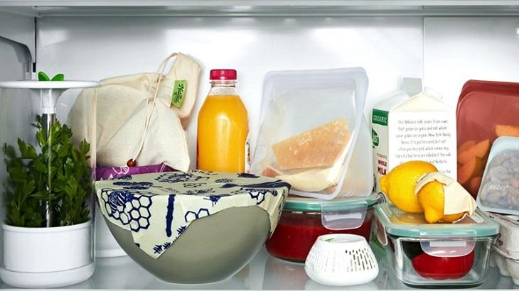 Cách sắp xếp thực phẩm ở kệ trên cùng tủ lạnh