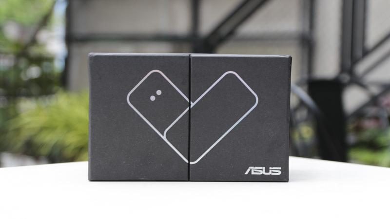 Mở hộp Zenfone max Plus