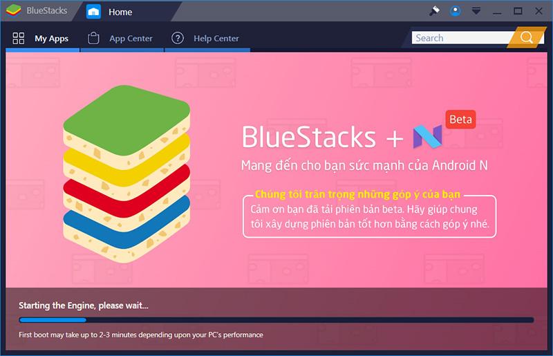 Cách cài và dùng thử Android 7 0 trên máy tính bằng Bluestacks