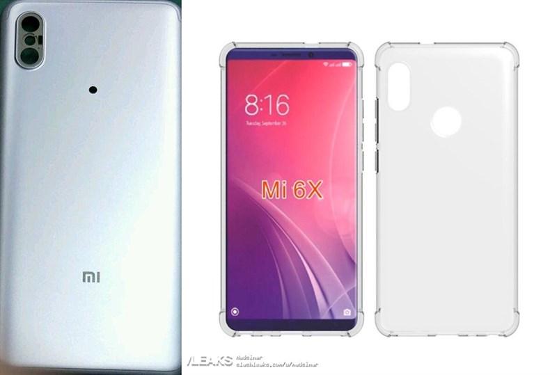 Xiaomi Mi 6X lộ ảnh màn hình 18:9, camera kép xếp dọc phía sau