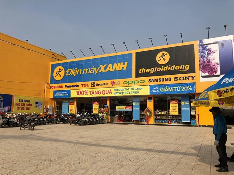 Siêu thị điện máy xanh tại 43 Quốc Lộ 1K, Khu Phố 2 , P. Linh Xuân, Q. Thủ Đức, TP.HCM (gần chợ Linh Xuân).