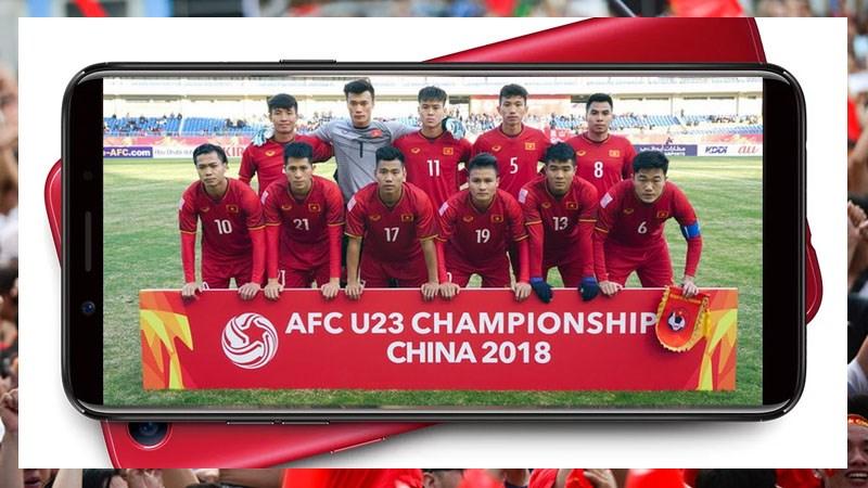 MiniGame: Dự đoán kết quả U23 Việt Nam và U23 Uzbekistan, trúng OPPO F5 màu đỏ may mắn