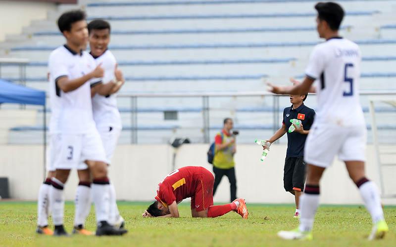 U23 Việt Nam thua Thái Lan