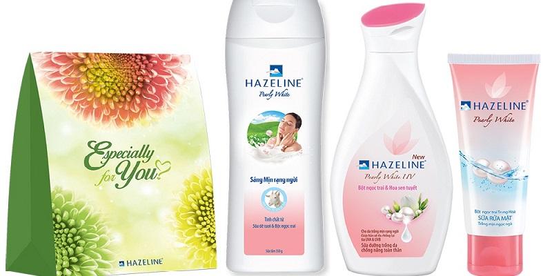 Xuất xứ và thành phần của sữa dưỡng thể trắng da Hazeline