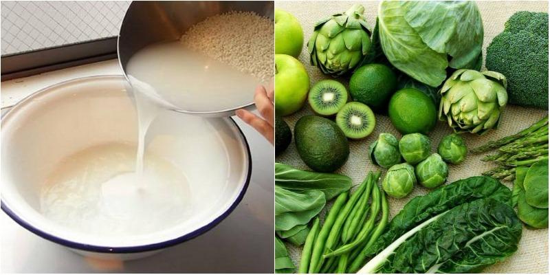 Tác dụng của nước vo gạo đối với thực phẩm