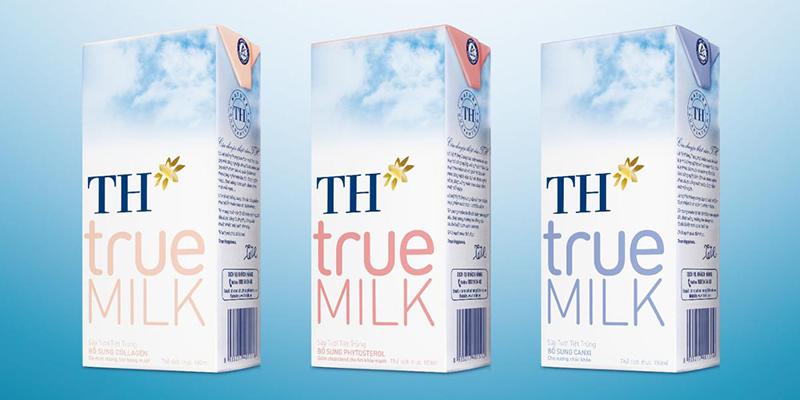 Sữa tươi TH True Milk bổ sung đầy đủ các dưỡng chất cho cơ thể