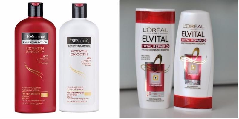 Các dòng sản phẩm của TRESemme và L'Oreal