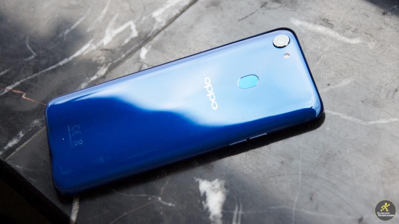 OPPO F5 xanh dương