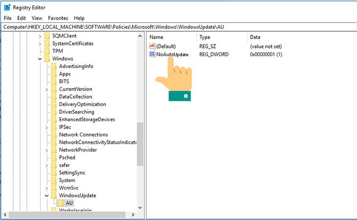 Chặn Windows 10 cập nhật theo hướng dẫn từ Microsoft