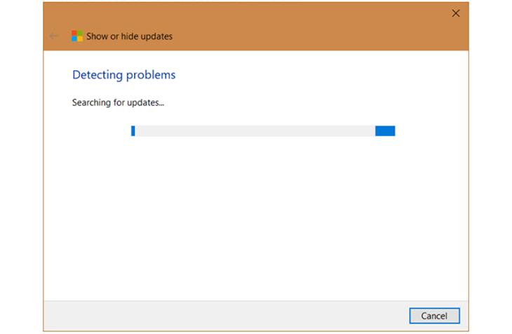 Sử Dụng Phần Mềm Tắt Update Windows 10 - Show or hide updates