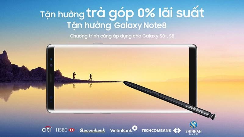 Mua trả góp smartphone Samsung