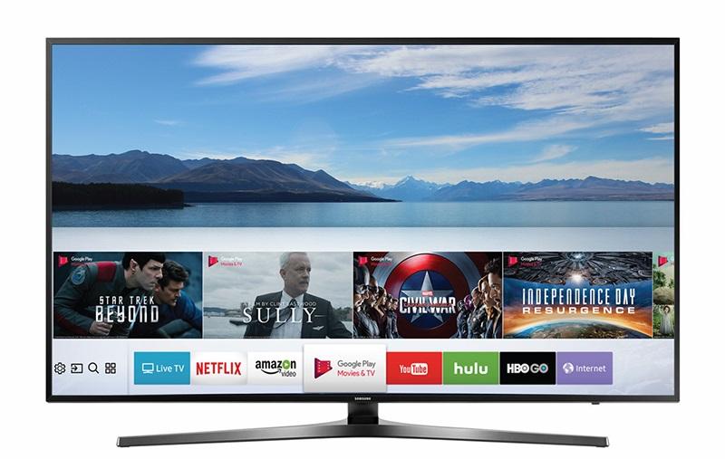 Top 5 tivi Samsung bán chạy nhất tháng 1/2018