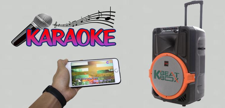 Hướng dẫn hát karaoke trên loa kéo bằng điện thoại