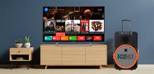 Kết nối loa kéo với smart tivi để hát karaoke