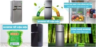 Top 5 tủ lạnh Inverter bán chạy nhất năm 2017 tại Điện máy XANH